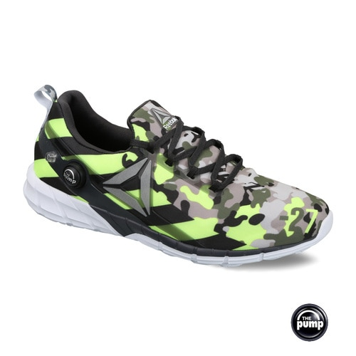 MEN'S REEBOK RUNNING ZPUMP FUSION 2.5 STRIPES SHOES