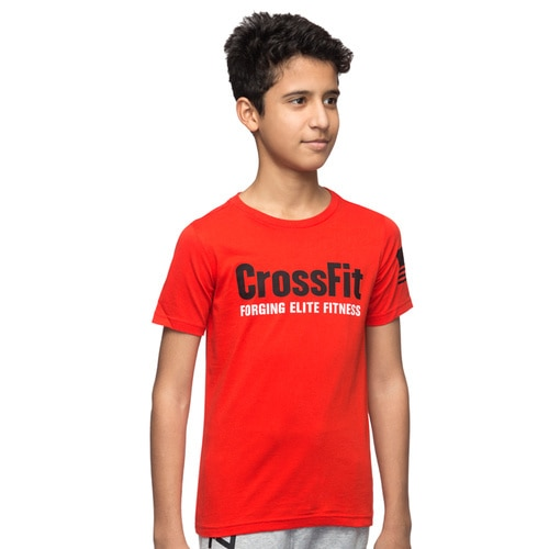 Boys' Reebok TRAINING Crossfit Basic Tee