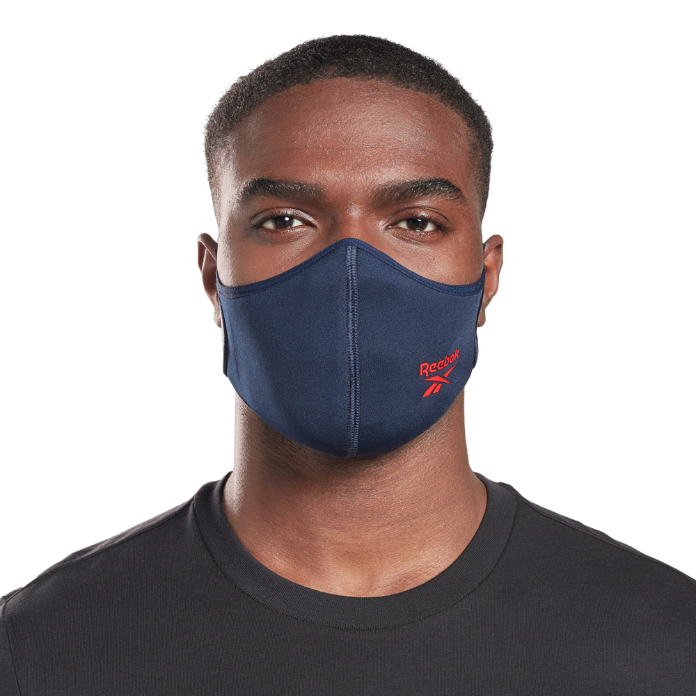 Unisex Reebok Training (Large) Face Cover 3-pack