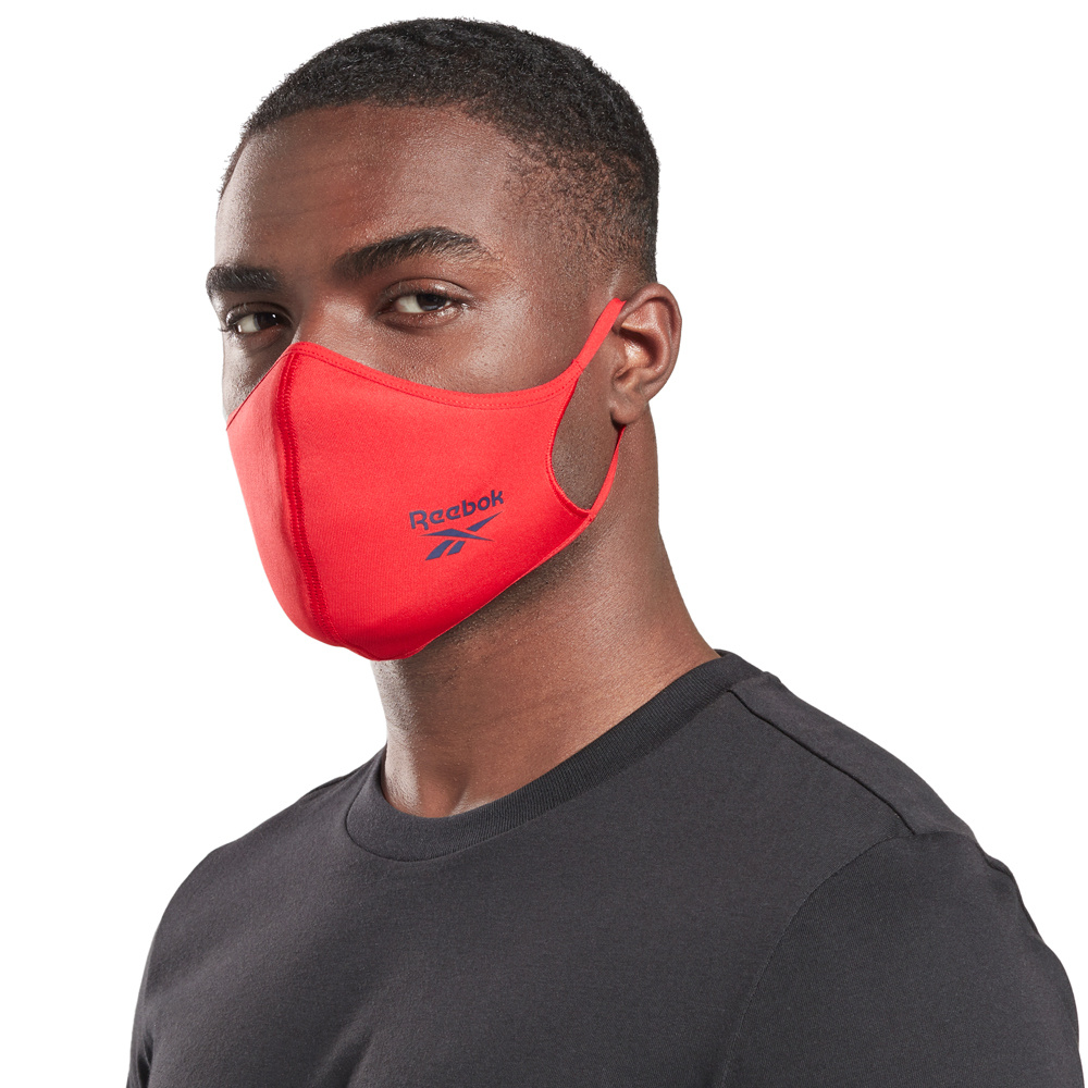 Unisex Reebok Training Face Covers (XS/S) 3-pack
