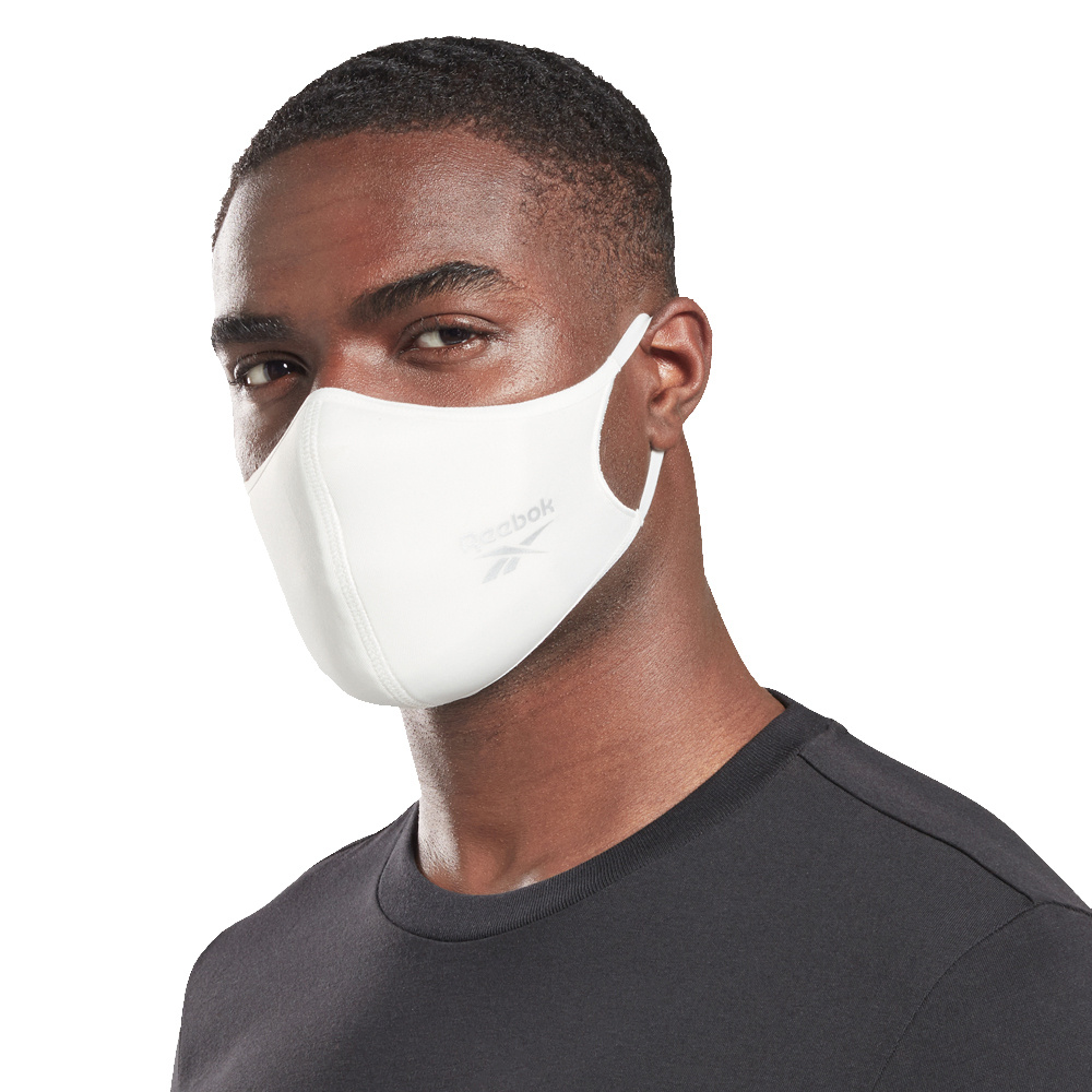 Unisex Reebok Training Large Face Cover 3-pack