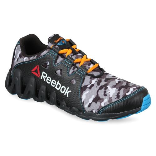 KIDS' REEBOK RUNNING PLANES ZIG BIG N FAST LOW SHOES
